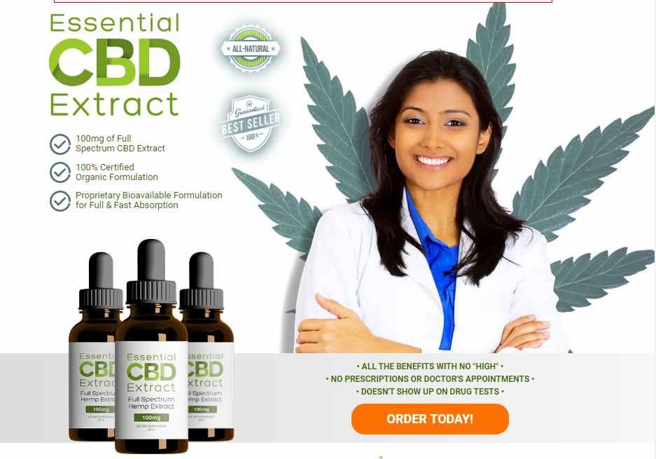 Essential CBD Extract oil