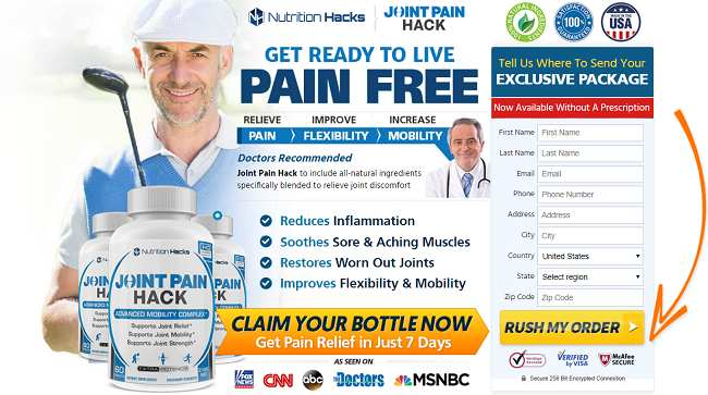 Joint Pain Hack how to order